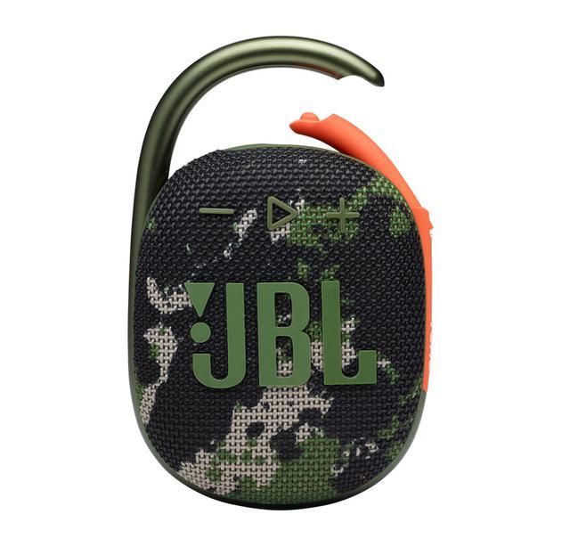 画像1: 防水・防塵に進化したJBLのポータブル Bluetooth スピーカー「CLIP 4」と「GO 3」に、迷彩デザインが新登場! キャンプやアウトドアでの活用にぴったり