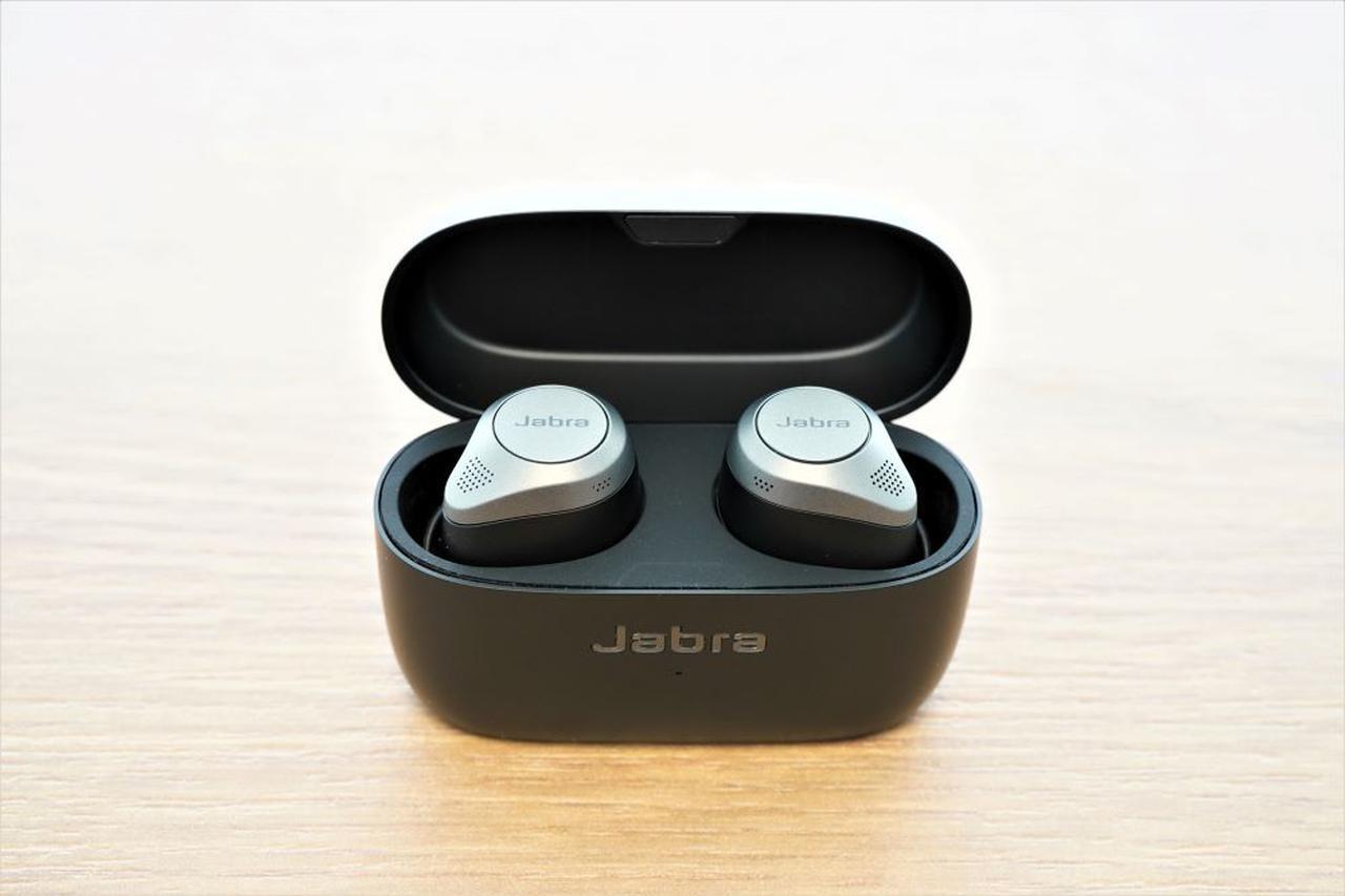 画像1: Jabraの完全ワイヤレスイヤホン「Jabra Elite 85t」のノイキャン性能は、フラッグシップモデルらしくとても良好。電車内の騒音を、見事に打ち消してくれる