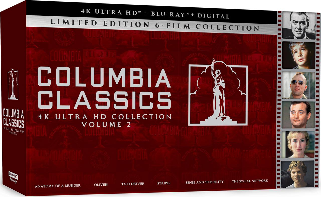 画像1: COLUMBIA CLASSICS COLLECTION: VOLUME 2 - 4K UHD BLU-RAY with DOLBY VISION and DOLBY ATMOS