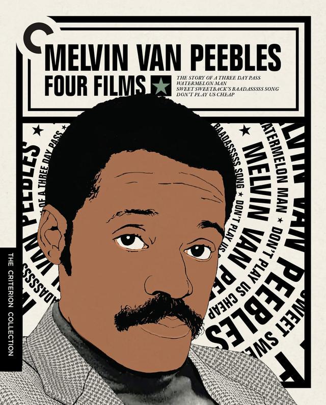 画像: メルヴィン・ヴァン・ピーブルズ: フォー・フィルムス/Melvin Van Peebles: Four Films 9月28日リリース 1967 - 1972年/監督ジーナ・プリンス=バイスウッド/出演オマー・エップス、サナ・レイサン 俳優、映画監督、そして音楽家であるメルヴィン・ヴァン・ピーブルズの代表作を特集。ブラックスプロイテーションの萌芽となった黒人青年と白人女性の恋愛ドラマ『スウィート・スウィートバック』(1967)。唯一のハリウッド製作映画で、ある朝黒人になってしまった白人男性を描くブラック・コメディ『ウォーター・メロンマン』(1970)。娼婦たちに育てられた黒人青年が白人社会に反旗を翻す反逆のドラマ『スウィート・スウィートバック』(1971)。自身が演出してトニー賞にノミネート、ブルースとゴスペル満載のブロードウェイ・ミュージカルの映画化『ドント・プレイ・アス・チープ』(1972)を所収。 ****************************************************************************************************************************** NEW 4K RESTORATIONS of all four films, approved by filmmaker Mario Van Peebles, with uncompressed monaural soundtracks for The Story of a Three Day Pass, Watermelon Man, and Sweet Sweetback's Baadasssss Song and 5.1 surround DTS-HD Master Audio soundtrack for Don't Play Us Cheap