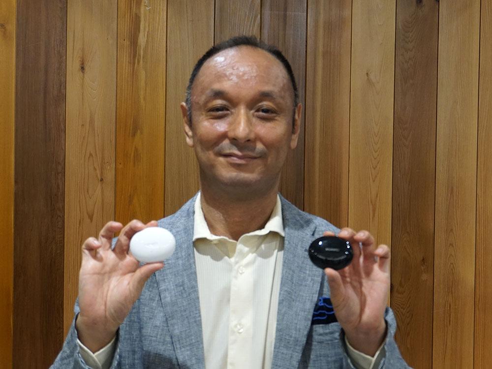 画像: ファーウェイ・ジャパン 東京研究所音響技術研究室室長の角田直隆さん