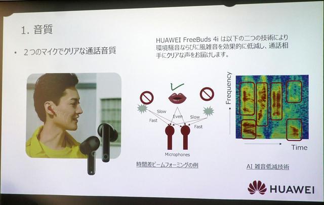画像2: HUAWEIが、完全ワイヤレスイヤホンの最新トレンドを分析! 「FreeBuds 4i」の魅力についても熱くアピールした