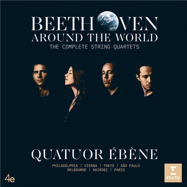 画像: Beethoven Around the World: The Complete String Quartets / Quatuor Ébène