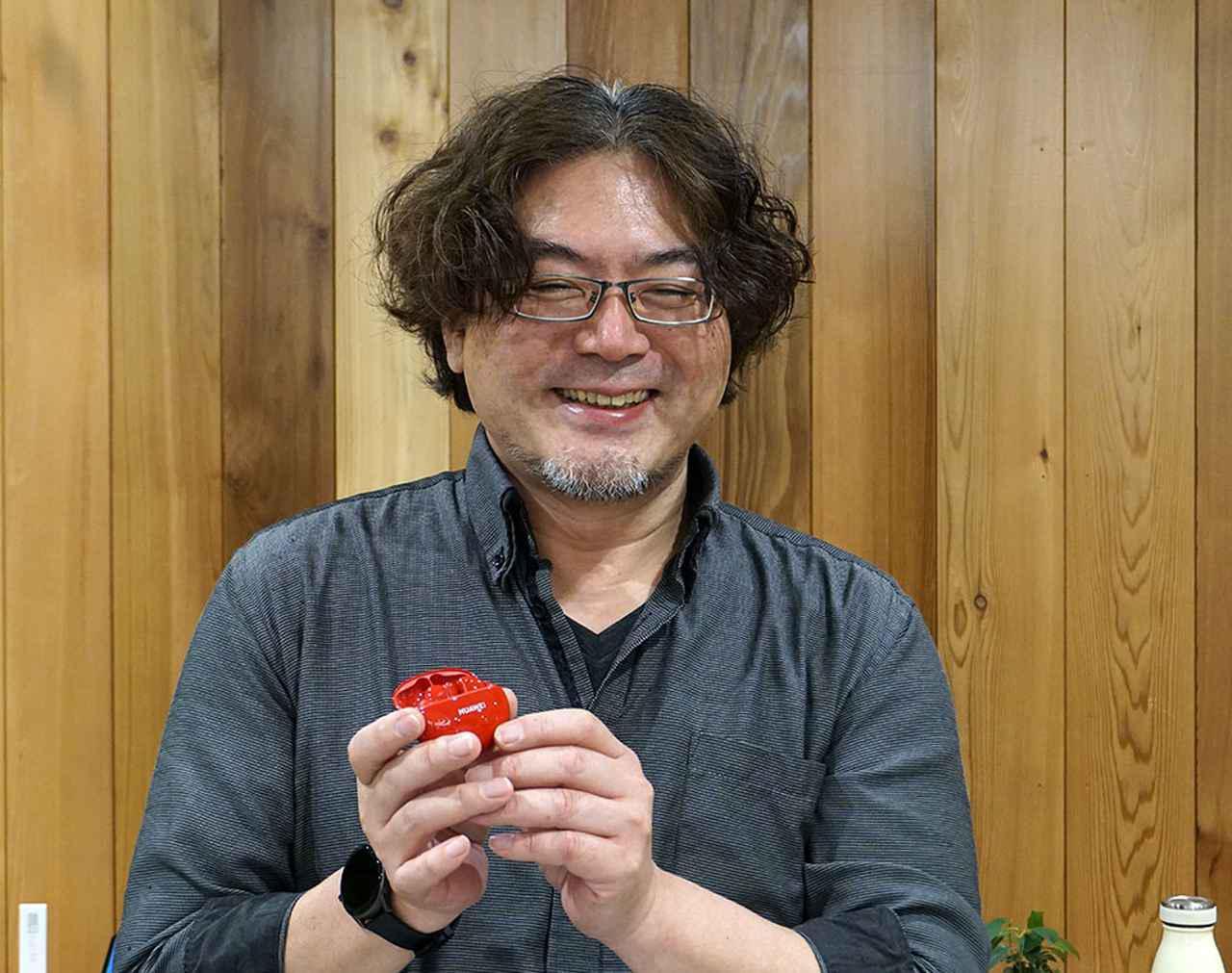 画像: オーディオ・ビジュアル評論家の野村ケンジさん