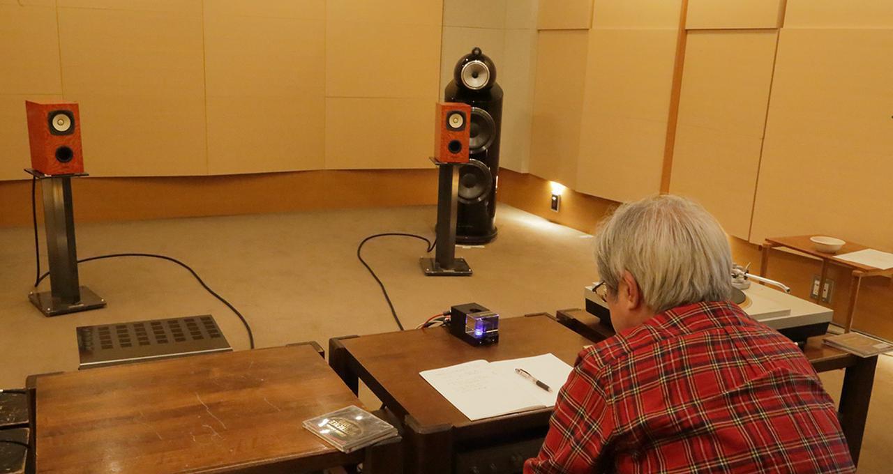 画像: 試聴はB&W 800D3の他にフォステクス製フルレンジスピーカーFE108Solでも行なった。
