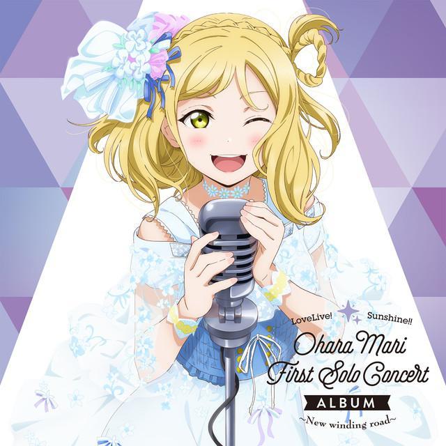画像: LoveLive! Sunshine!! Ohara Mari First Solo Concert Album ~New winding road~ [High-Resolution] / 小原鞠莉 (CV.鈴木愛奈) from Aqours