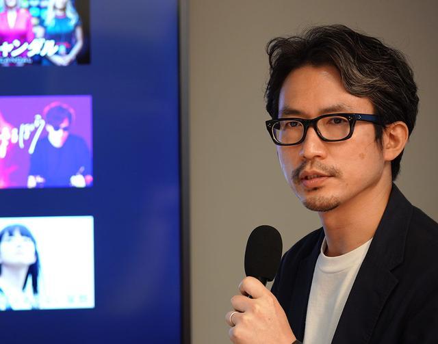 画像: U-NEXT編成制作本部 映画部・部長の林健太郎氏