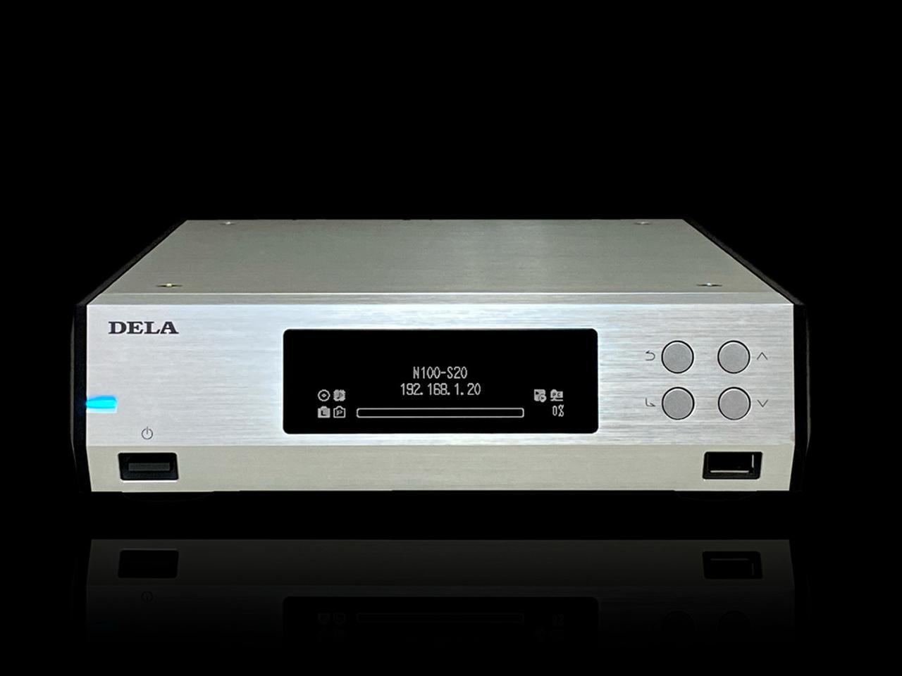 画像: DELA、ミュージックライブラリに2TB SSDを搭載したエントリーモデル「N100-S20-J」をラインナップ。5月末出荷予定で、198,000円 - Stereo Sound ONLINE