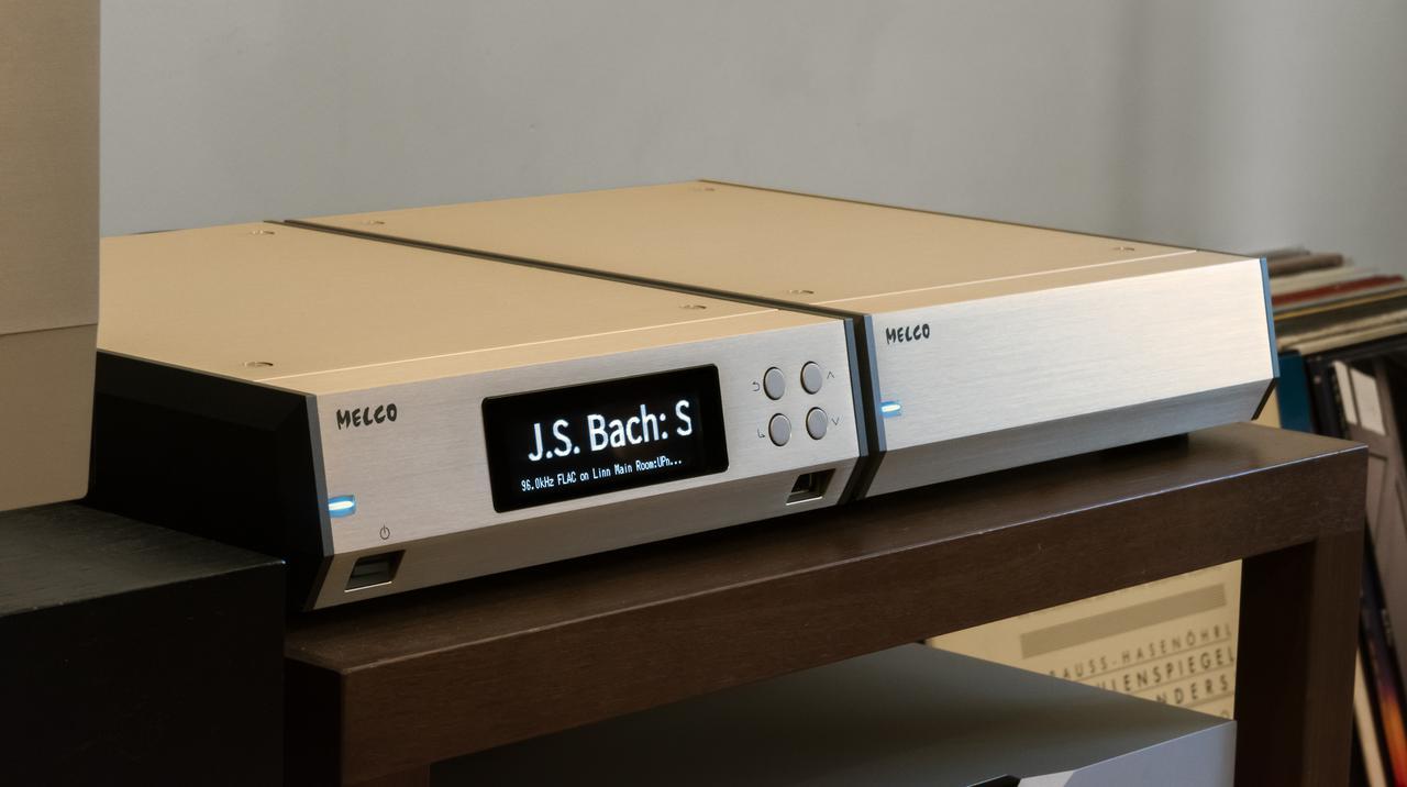画像2: 【HiViレビュー】MELCO「N10 MELCO 45th Anniversary Limited Edition」、DELA「N100-S20」、ネットワークトランスポートの大本命、注目の2製品を徹底試聴