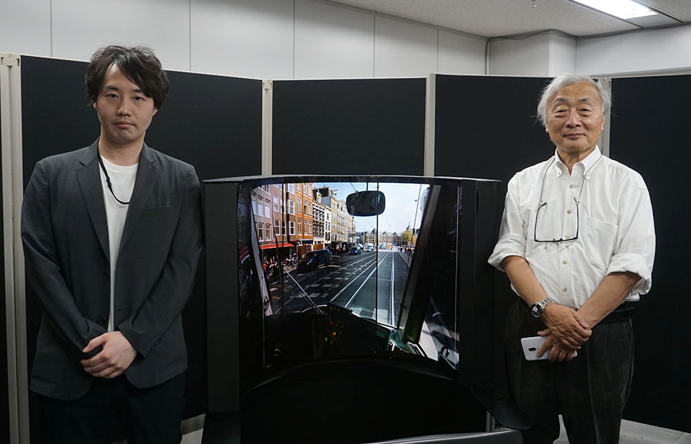 画像: ●取材に対応いただいた方 日本放送協会 放送技術研究所 新機能デバイス研究部の岡田拓也さん