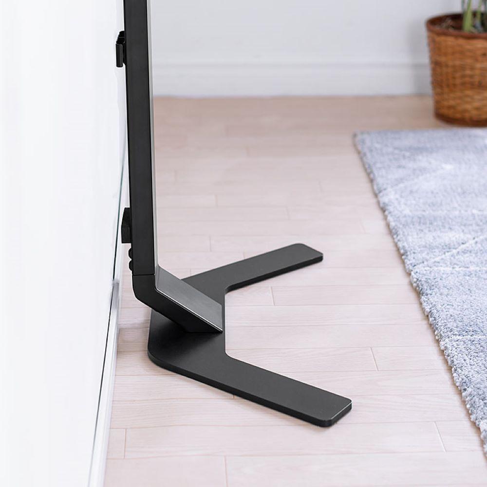 画像2: サンワサプライ、手軽に薄型テレビを壁掛け風設置ができるテレビスタンド2モデルを発売