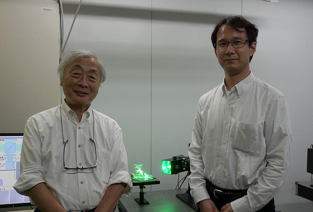 画像: ●取材に対応いただいた方 日本放送協会 放送技術研究所 新機能デバイス研究部 主任研究員 博士(工学)の室井哲彦さん