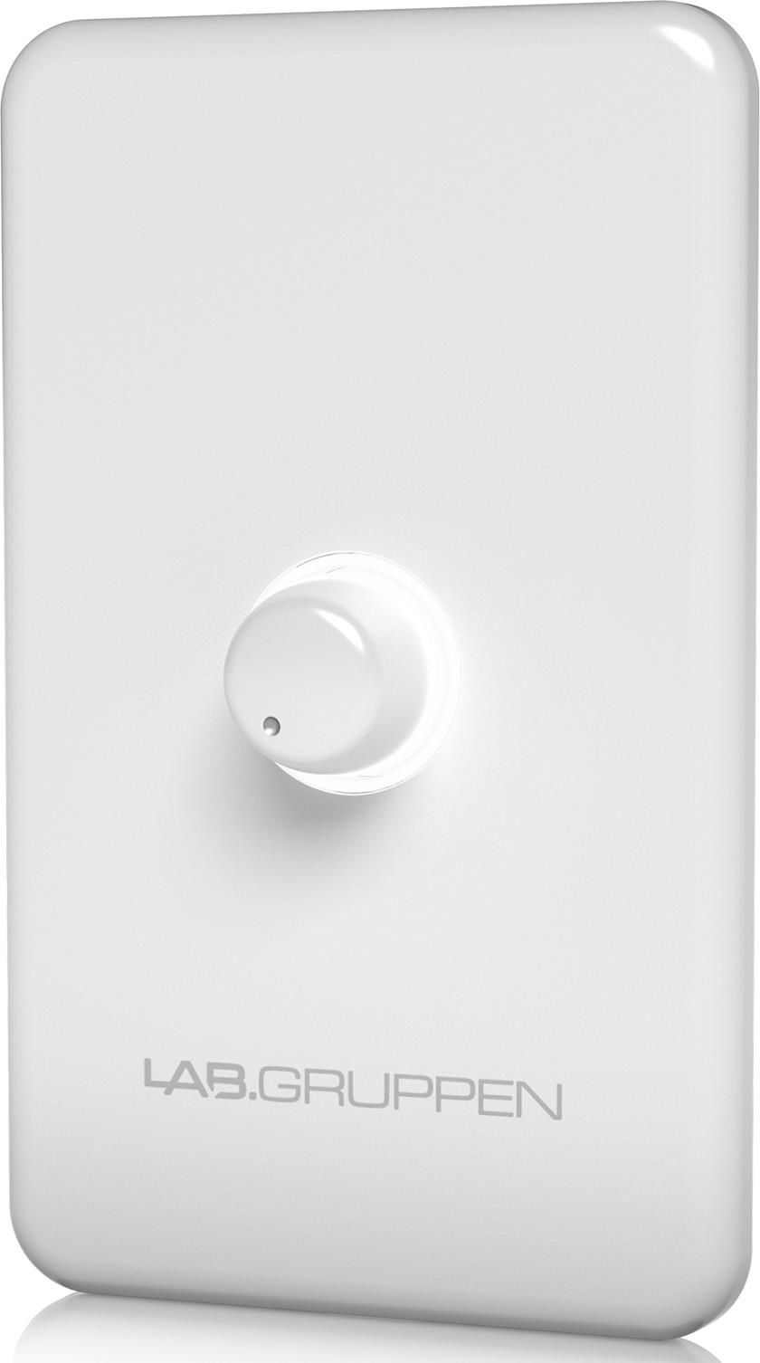 画像: 壁付け用ボリュームコントローラー (標準RJ45コネクターによる接続) CRC-VUL-WH(白) 価格:¥8,800(税込み)