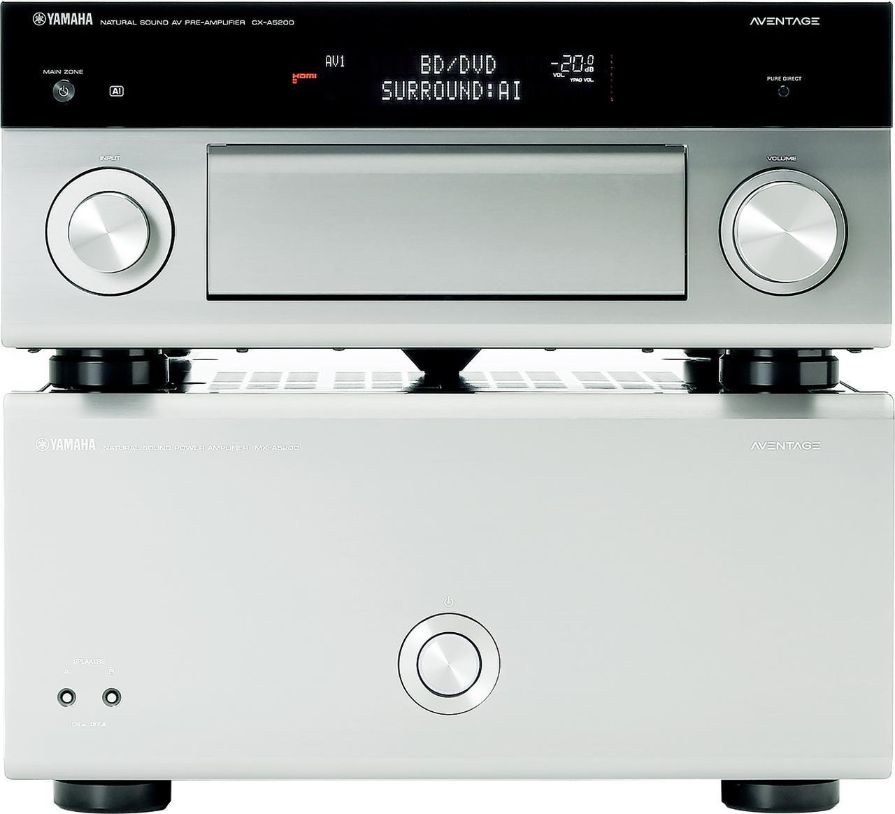 画像: 第4位:ヤマハ CX-A5200+MX-A5200