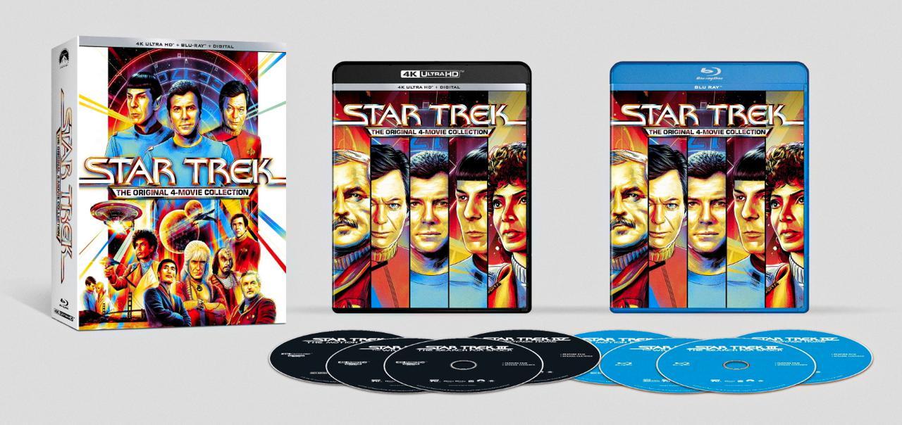 画像: STAR TREK-THE MOTION PICTURE/STAR TREK II: THE WRATH OF KHAN/ STAR TREK III: THE SEARCH FOR SPOCK/ STAR TREK IV: THE VOYAGE HOME - UHD BLU-RAY with DOLBY VISION and 4K DIGITAL RESTORATION
