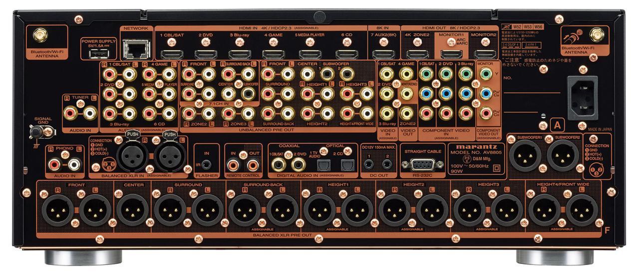 """画像3: """"変わらない"""" 高品位コントロールAVセンター マランツ『AV8805A』"""