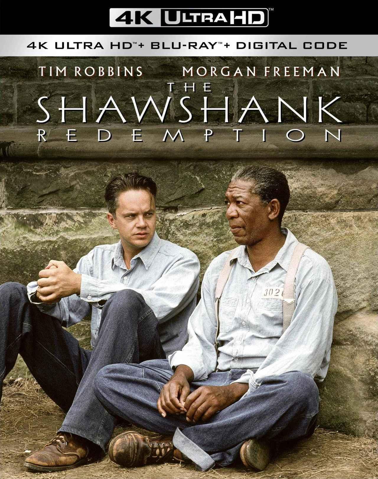 画像: S・キング原作の名画を4K化『ショーシャンクの空に』【海外盤Blu-ray発売情報】