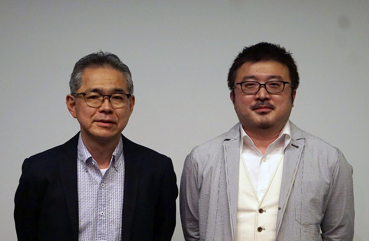 画像: 株式会社スタジオジブリ 映像部 部長の奥井 敦さん(左)と、制作部 副部長の古城 環さん(右)。おふたりにはこれまでも多くの取材でお世話になっています