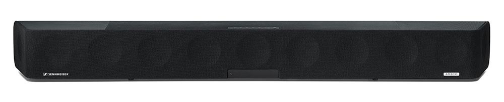 画像1: ゼンハイザー「AMBEO Soundbar」は、サウンドバーの概念を変えたオールマイティなスピーカーだ。ハイファイからサラウンドまで縦横無尽に楽しんだ:麻倉怜士のいいもの研究所 レポート55