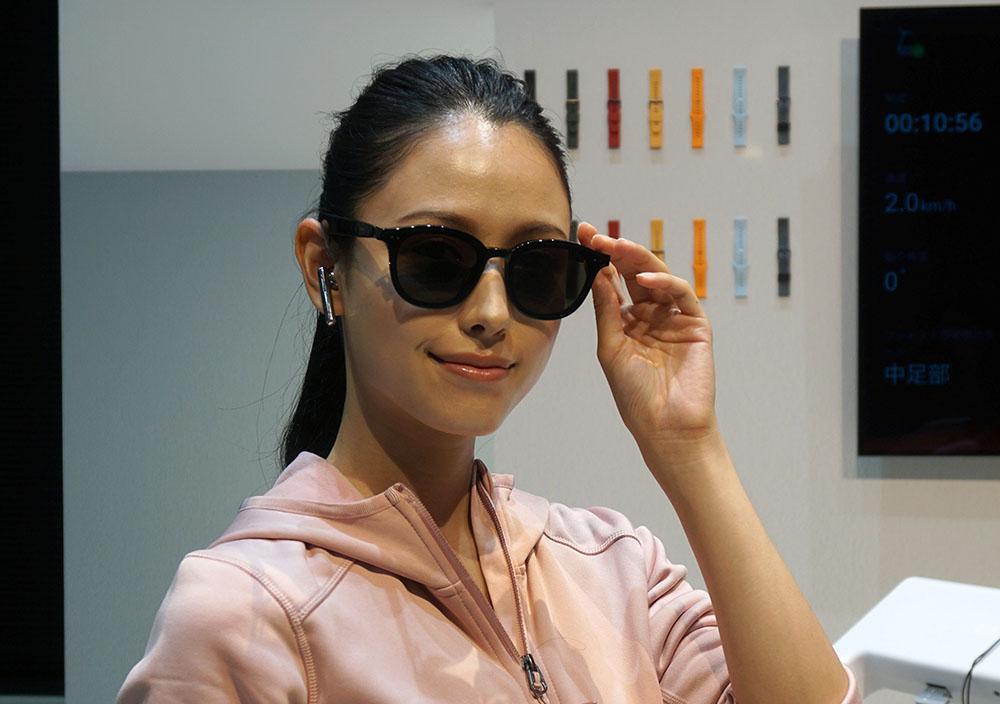画像: サングラスメーカーのGENTLE MONSTERとコラボレーションした「Eyewear II」(市場想定価格¥43,780、7月13日発売)