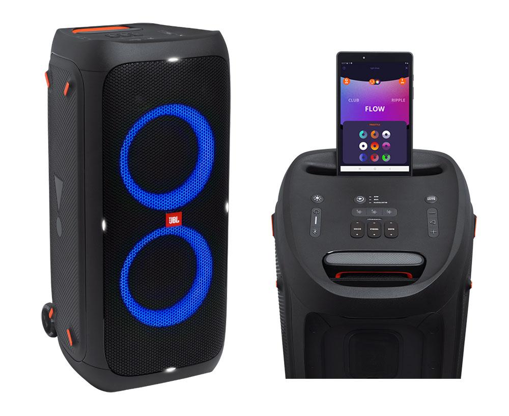 画像1: JBLがパーティースピーカー「PartyBox 310」を8月6日に発売。防滴機能の搭載と持ち運びやすさも加わりオールラウンドで活躍