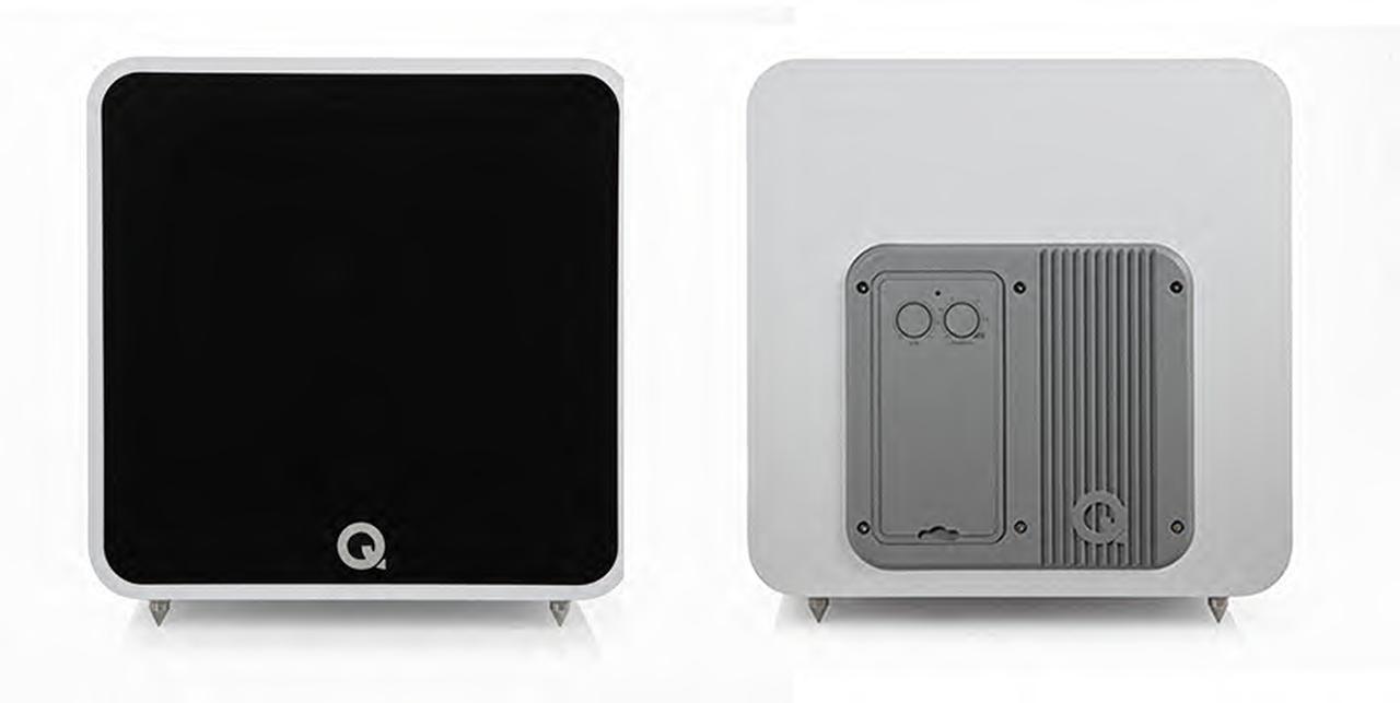 画像: Q Acousticsの新製品サブウーファー「QB12」。305mmウーファーを搭載した本格モデルは、8月2日から受注先行販売をスタート