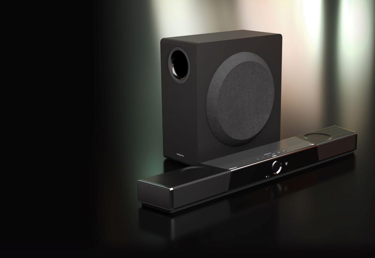画像: クリエイティブメディア、ドルビーと共同開発したドルビーアトモス対応のサウンドバー「Creative SXFI CARRIER」を5月中旬に発売。SXFI技術もサポート! - Stereo Sound ONLINE