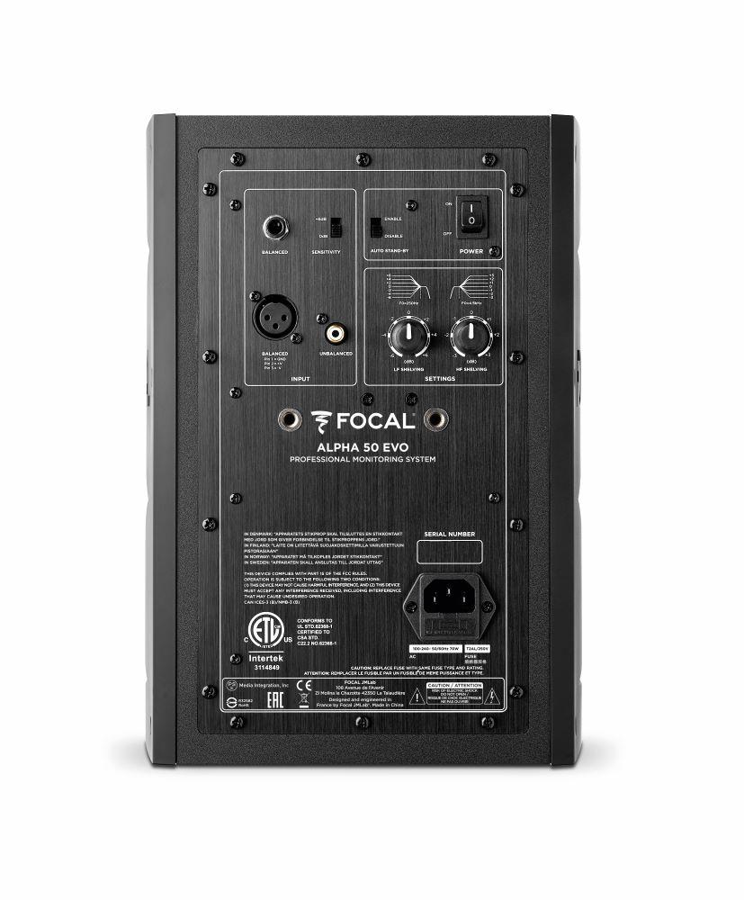 画像: Focal Professional、小型で使いやすいスタジオ用モニタースピーカー「ALPHA EVO 50」「ALPHA EVO 65」を8月上旬に発売