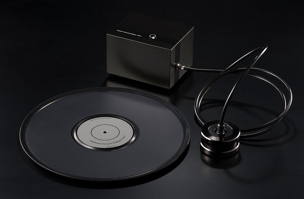 画像1: アナログレコードの振動と反りの問題を一気に解消! YUKIMU SUPER AUDIO ACCESSORYから、究極のバキューム・スタビライザー「CVS-1」がリリース