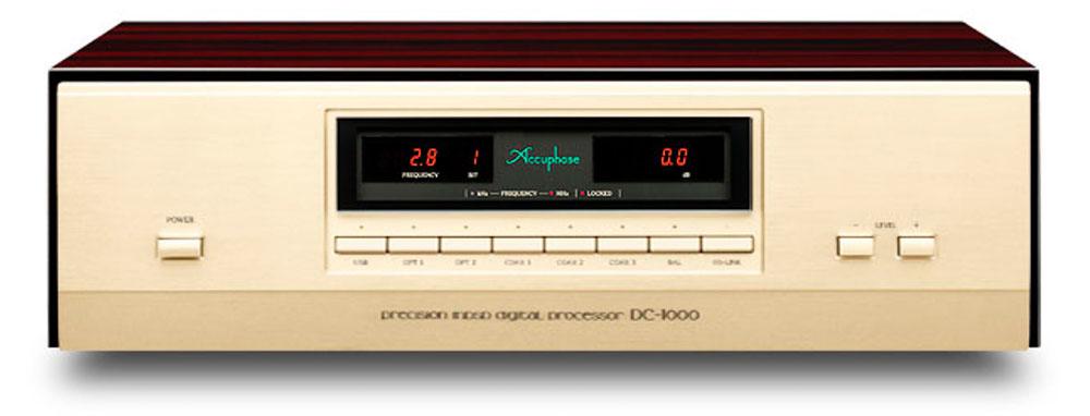画像2: アキュフェーズが、創立50周年記念セパレート型SACD/CDプレーヤー「DP-1000」と「DC-1000」を発売。20年を超える技術の蓄積を投入し、あらゆるデジタルソースの音楽情報を描き出す