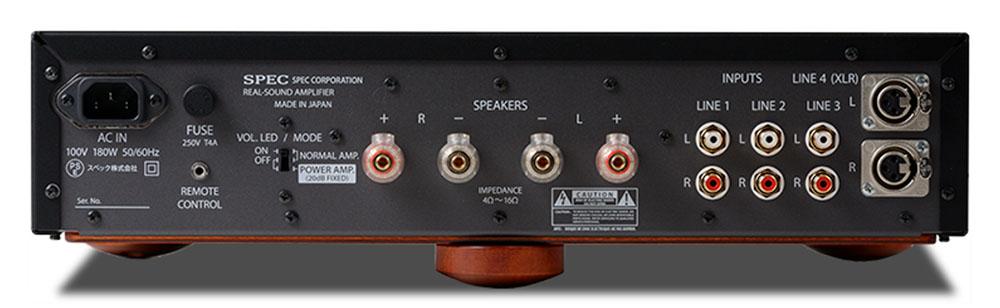 画像2: スペックが、リアルサウンドアンプ「RSA-BW1」を9月中旬に発売。欧州市場で好評のモデルを、日本国内向けにブラッシュアップ