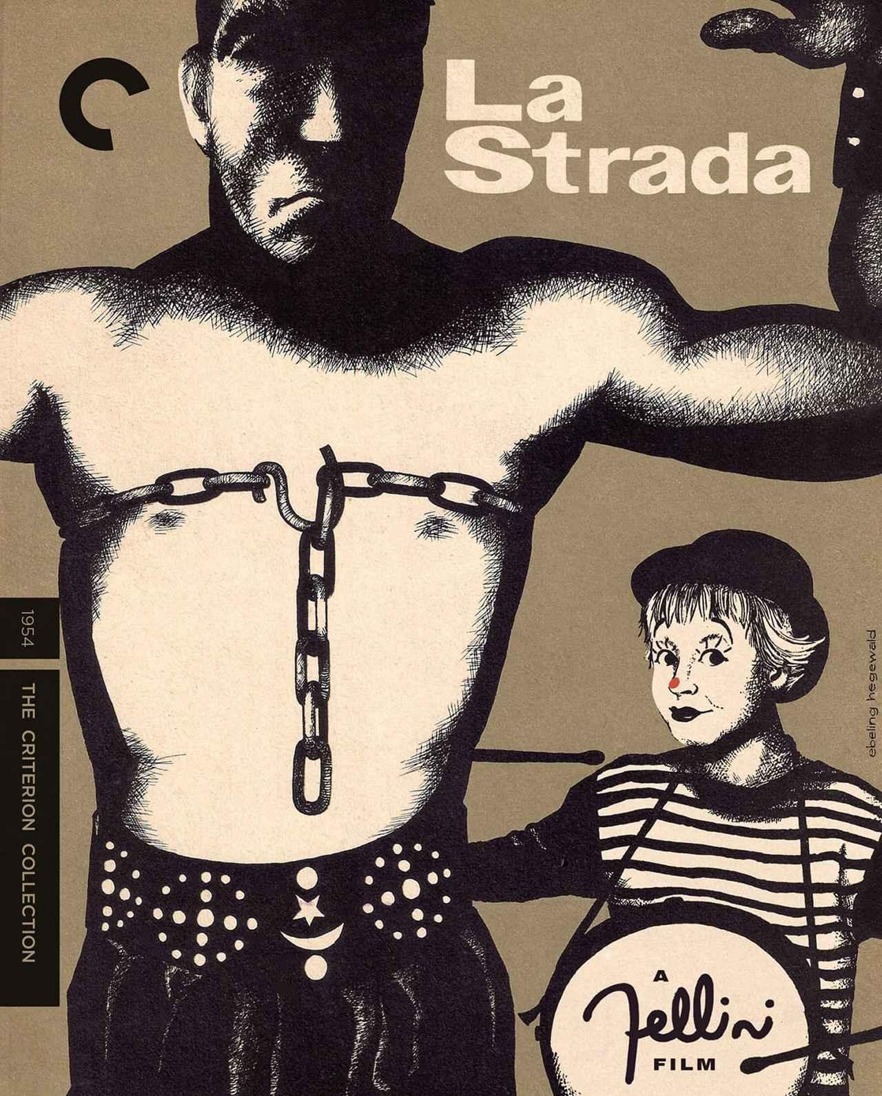 画像: 道/LA STRADA 11月2日リリース 1954年/監督フェデリコ・フェリーニ /出演アンソニー・クイン, ジュリエッタ・マシーナ 野獣のような大道芸人と、彼にいいようにこき使われる頭の弱い娘の奇妙な交流。復興著しいイタリア映画界は、ロッセリーニやデ・シーカに続いてさらなる逸材を世に送り出した。人間の心のなかの獣性と神性の戦いを描いたフェリーニの秀作。アカデミー外国語映画賞、ヴェネチア国際映画祭サン・マルコ銀獅子賞受賞作。 ******************************************************************************************************************************** Italy   97 minutes   Black & White   1.37:1   Italian   SRP: $39.95 4K RESTORATION , undertaken in collaboration with The Film Foundation and the Cineteca di Bologna, with uncompressed monaural soundtrack