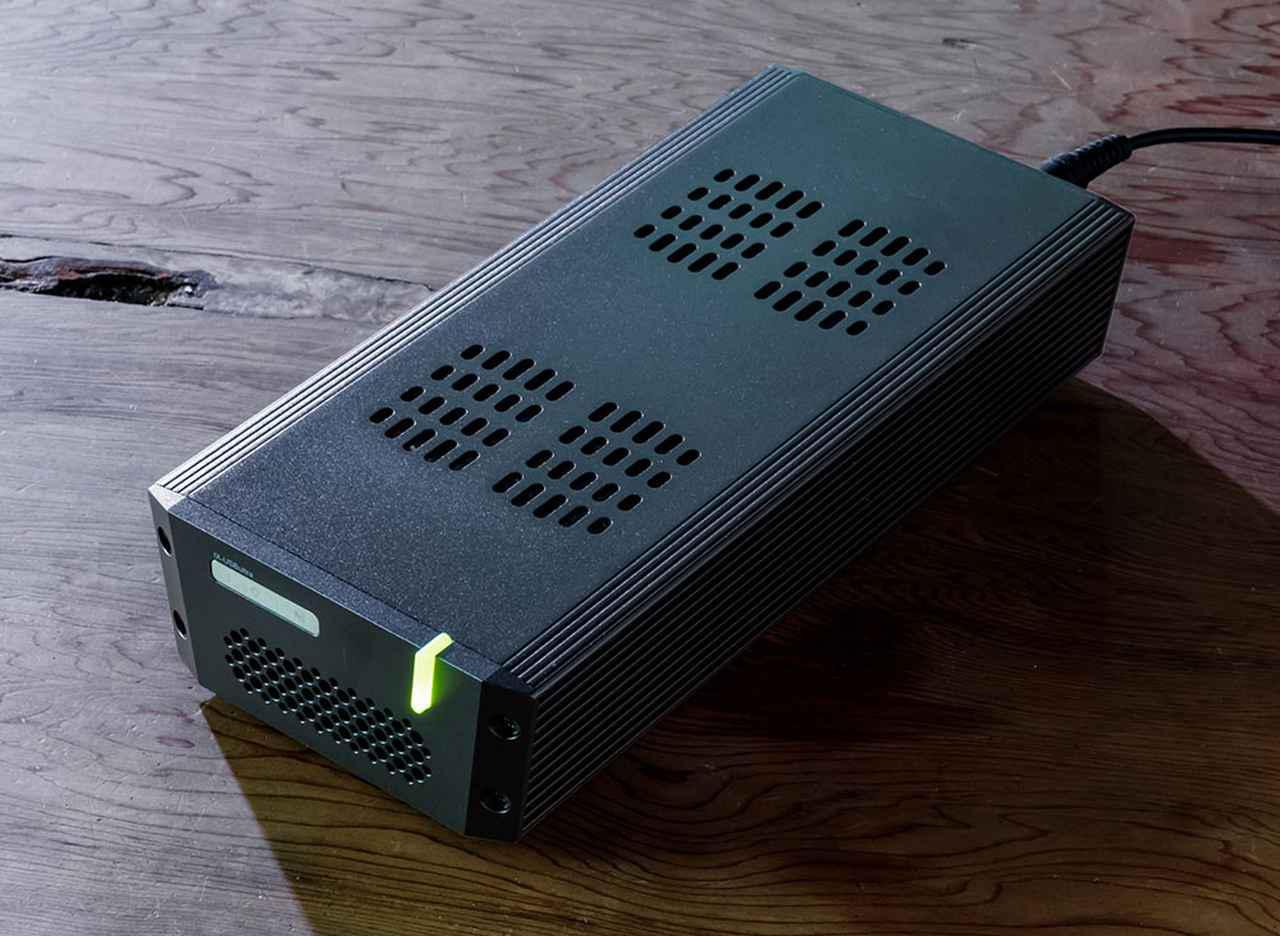 画像: tX-USBultraはスタンダード、スペシャルエディションとも外観は同じなので、底面のマーキングで仕様を確認する。