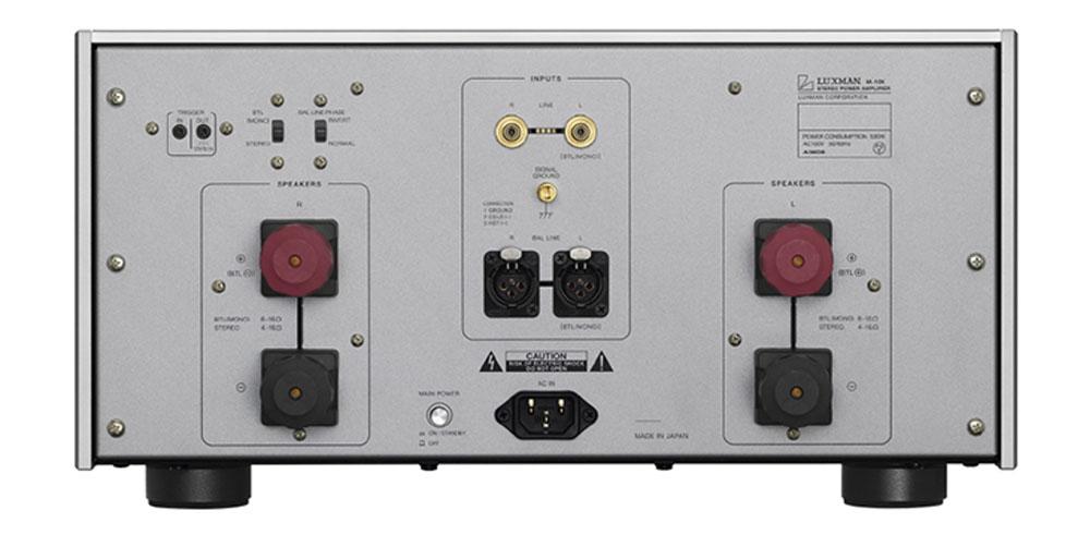 画像2: ラックスマン、増幅帰還エンジン「LIFES」初搭載のステレオパワーアンプ「M-10X」を10月に発売。創業100周年を見据えて開発された、新たなフラグシップモデル