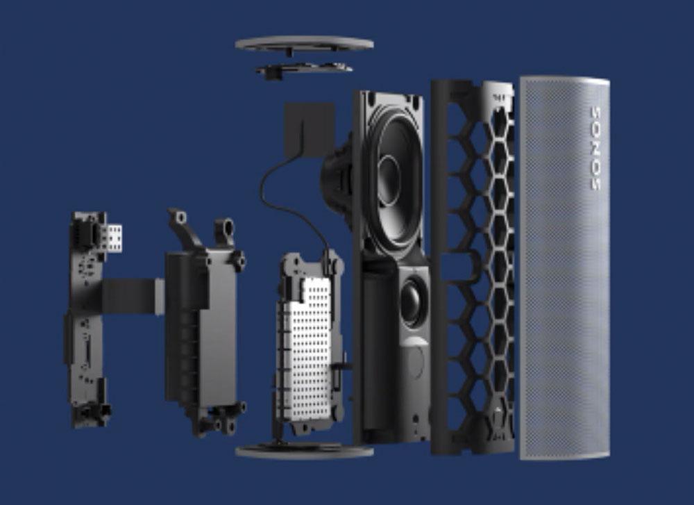 """画像4: """"控えめに言っても最高のワイヤレススピーカー""""「SONOS Roam」の日本発売が決定。音質、機能性、モビリティなどの求められるすべてをコンパクトなサイズに凝縮した"""