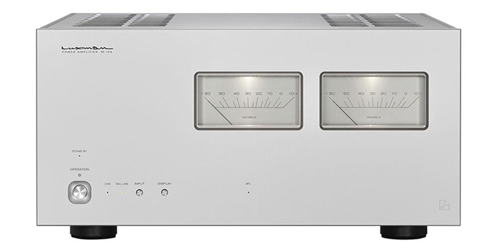 画像1: ラックスマン、増幅帰還エンジン「LIFES」初搭載のステレオパワーアンプ「M-10X」を10月に発売。創業100周年を見据えて開発された、新たなフラグシップモデル