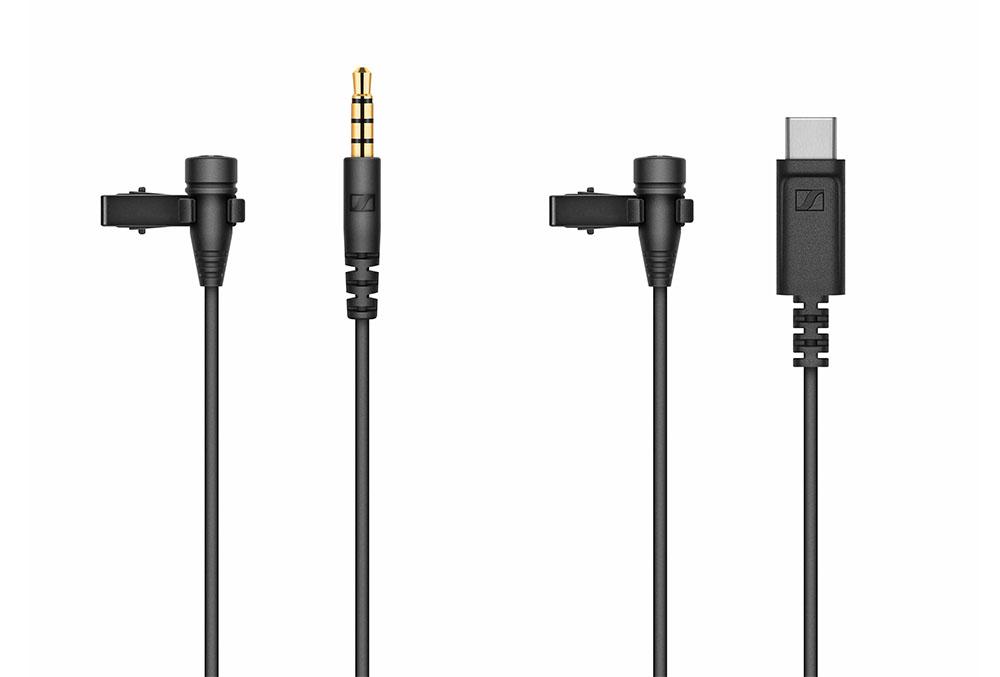 画像: 左が「XS Lav Mobile」で、右が「XS Lav USB-C」