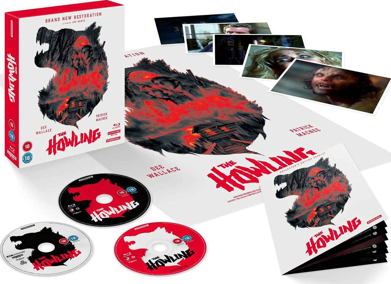 画像: The Howling - 40th Anniversary Restoration - 4K Ultra HD Collector's Edition