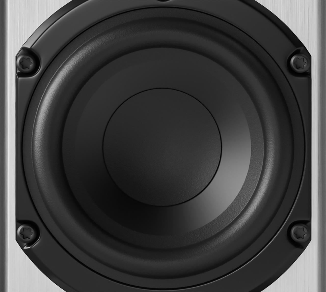 画像: Premiumシリーズにも使用しているピエガオリジナルのMDSウーファーはACE用に再設計されており、小口径ながら豊かな低音再生能力を持つ
