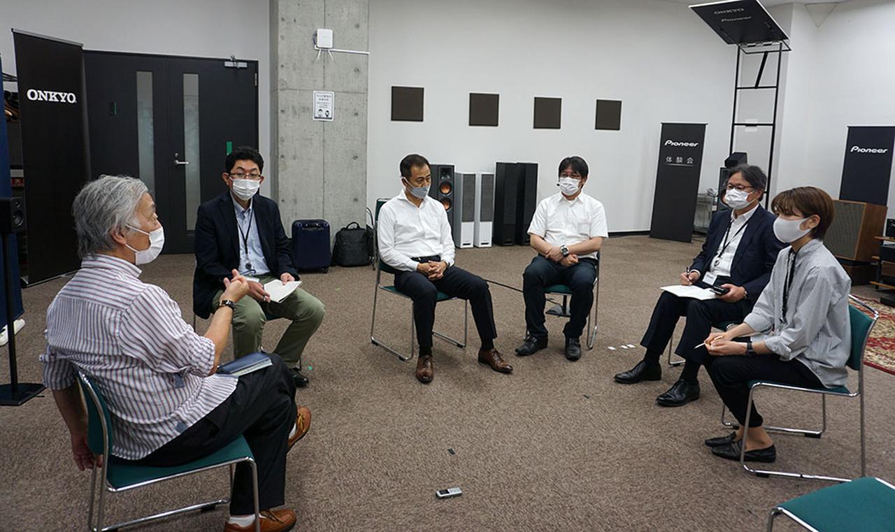 画像: 今回の取材はオンキヨー本社にお邪魔して、デモルームでSOUNDSPHERE5.1chの音も体験させていただいた