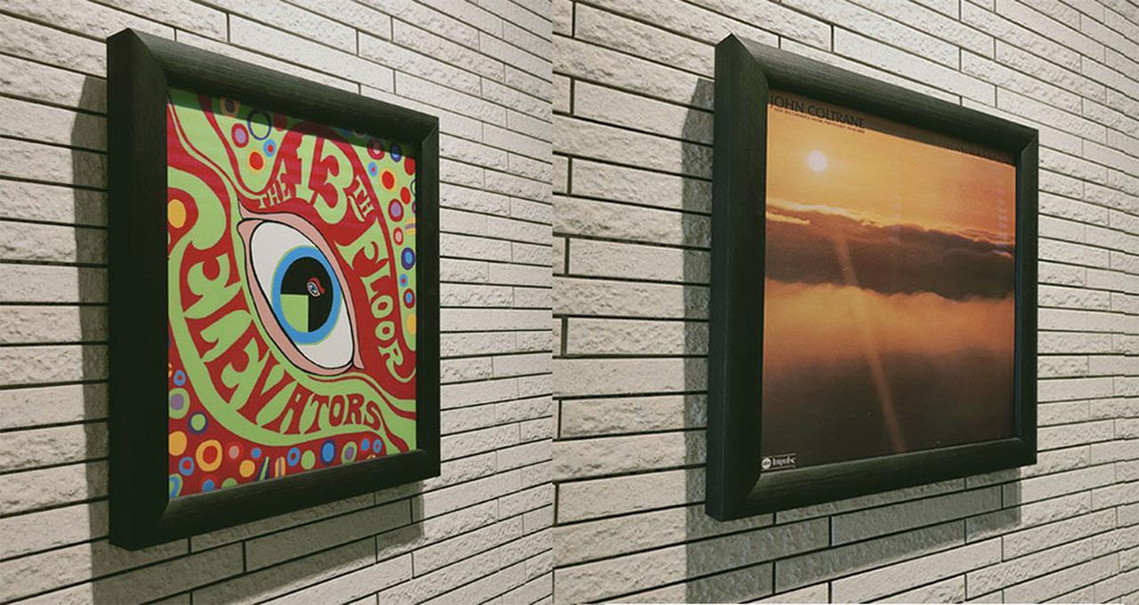 画像: お気に入りのレコードジャケットを綺麗にディスプレイ。NAGAOKAの壁掛け用木製フレーム「LPF03」は、市場想定売価¥3,828 - Stereo Sound ONLINE