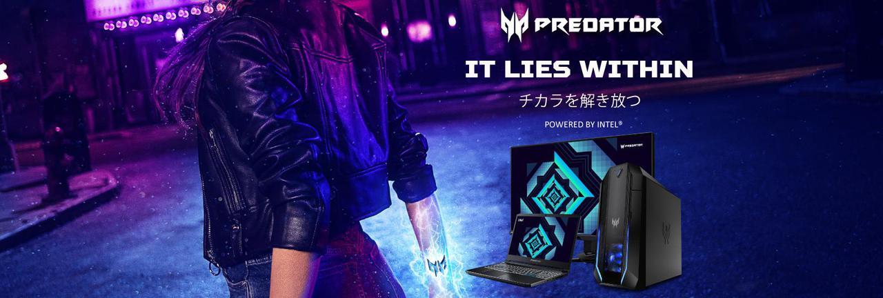 画像: Acer Japan