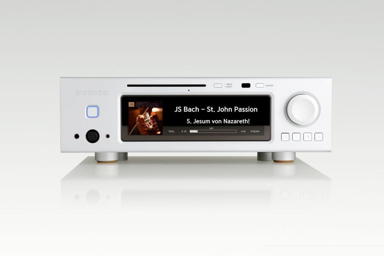 画像: Aurender、アナログ出力端子搭載のデジタルミュージックプレーヤーのフラッグシップモデル「A30」を1月29日に発売。価格は216万8000円! - Stereo Sound ONLINE