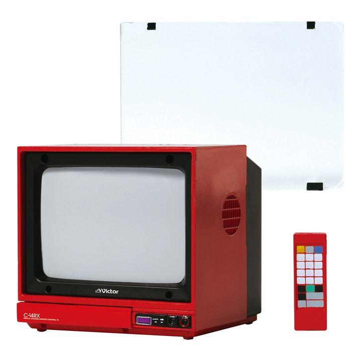 画像1: 「Victor」ブランドの昭和レトロなオーディオビジュアル製品が精巧なミニチュアフィギュアで登場。VHS「HR-3300」など全5モデル
