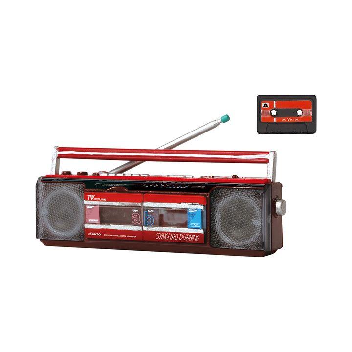 画像5: 「Victor」ブランドの昭和レトロなオーディオビジュアル製品が精巧なミニチュアフィギュアで登場。VHS「HR-3300」など全5モデル