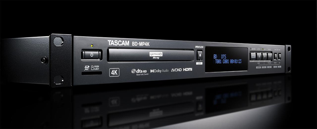 画像: BD-MP4K | 製品トップ | TASCAM (日本)