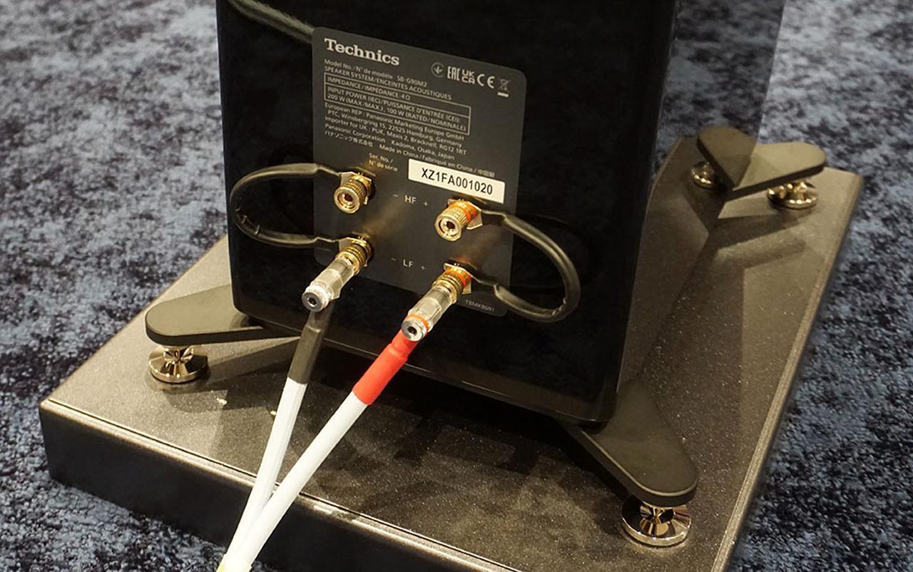 画像3: テクニクス、グランドクラスのスピーカー「SB-G90M2」を発売。新開発の同軸ユニットや進化した「重心マウント構造」を採用し、明瞭な音像定位と立体的な音場、情報量豊かな音を実現