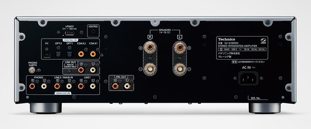 画像2: テクニクス、2021年秋の新製品を発売! デジタルインテグレーテッドアンプ「SU-G700M2」は、力強いスピーカー駆動と躍動感溢れる低域再生を実現