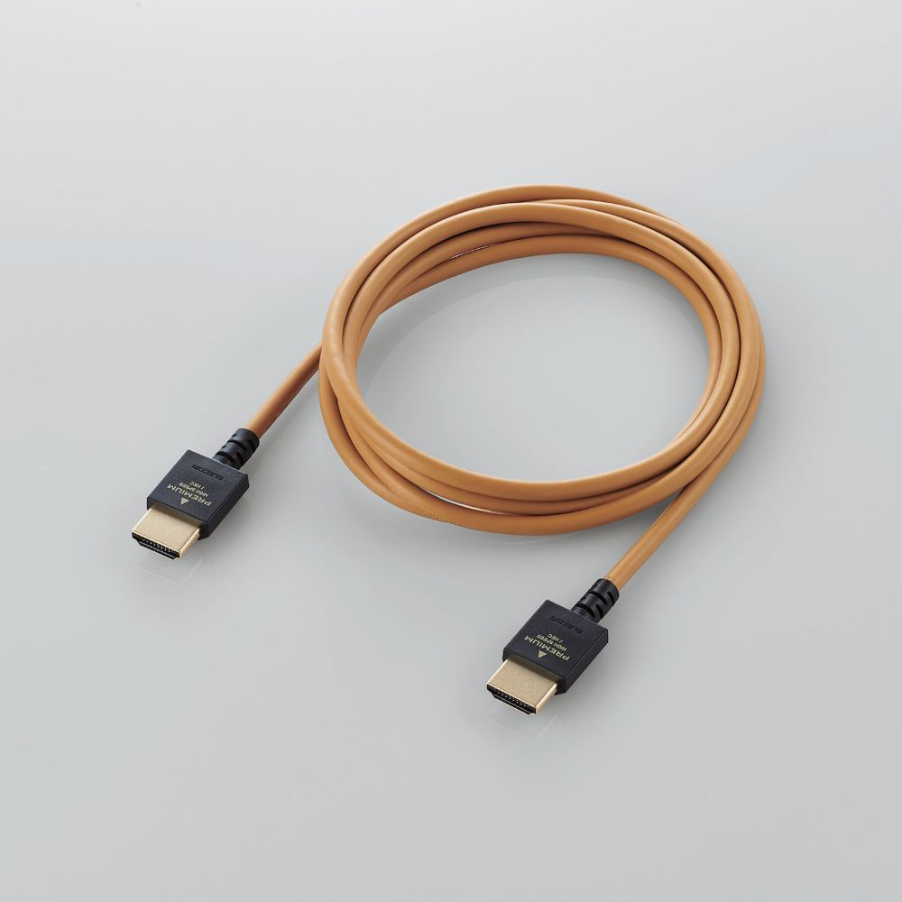 画像3: エレコム、インテリアに溶け込むカラーリングを採用した4K対応のHDMIケーブルを発売