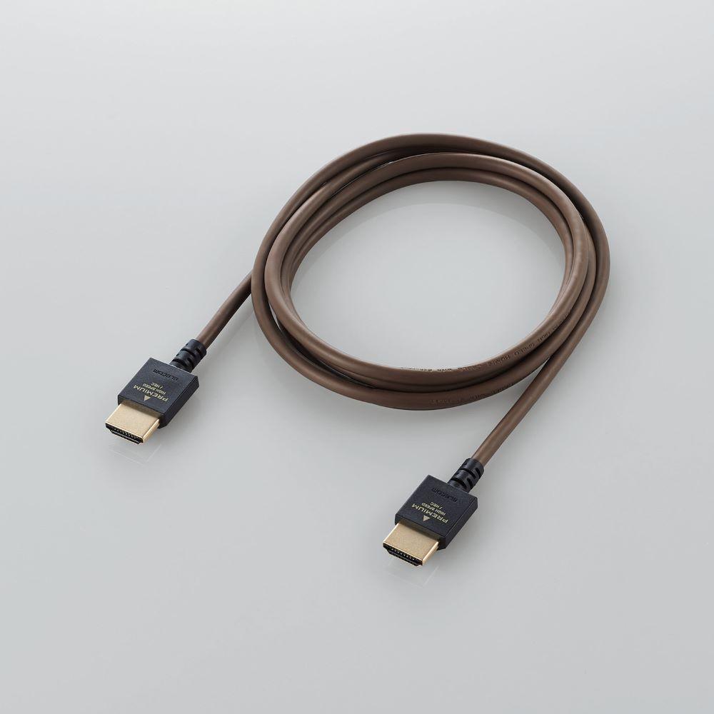画像2: エレコム、インテリアに溶け込むカラーリングを採用した4K対応のHDMIケーブルを発売